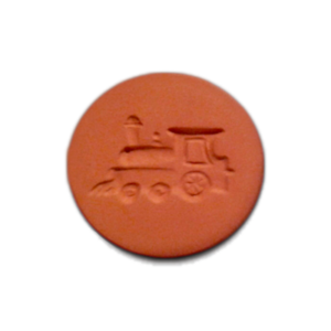 087-Train Engine Cookie Stamp | CookieStamp.com