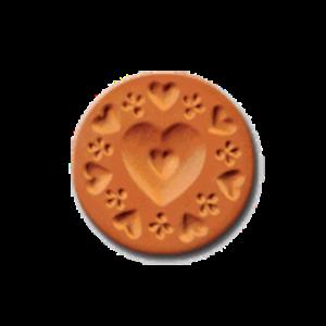 1003 Heidi cookie stamp | cookiestamp.com