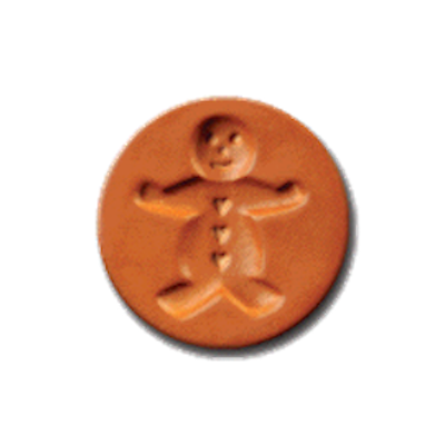 1007 Gingerbread Boy cookie stamp | cookiestamp.com