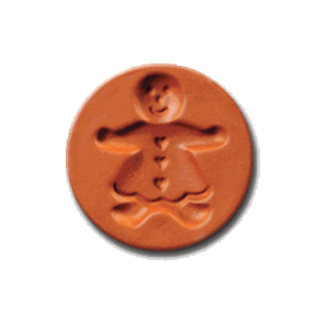 1008 Gingerbread Girl cookie stamp | cookie stamp.com