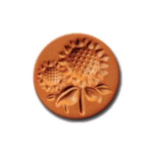 1009 Sunflower cookie stamp | cookiestamp.com