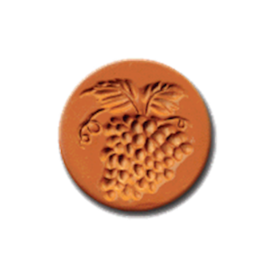 1027 Grapes Cookie Stamp | CookieStamp.com