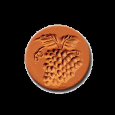 1027 Grapes Cookie Stamp | CookieStamp.com