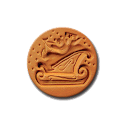 1030 Sleigh Cookie Stamp | CookieStamp.com