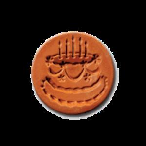 1040 Birthday Cake Cookie Stamp | CookieStamp.com