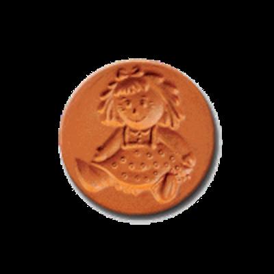 1041 Doll Cookie Stamp | CookieStamp.com