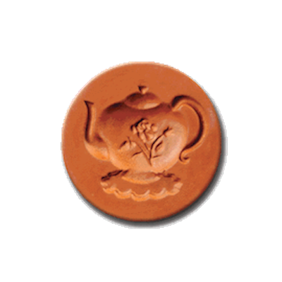 1043 Tea Time Cookie Stamp | CookieStamp.com