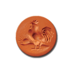 1056 Rooster Cookie Stamp | Cookie Stamp.com