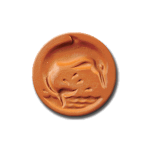 1074 Dolphin Cookie Stamp | CookieStamp.com