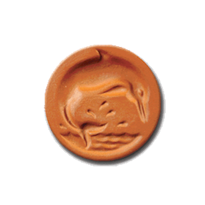 1074 Dolphin Cookie Stamp | CookieStamp.com