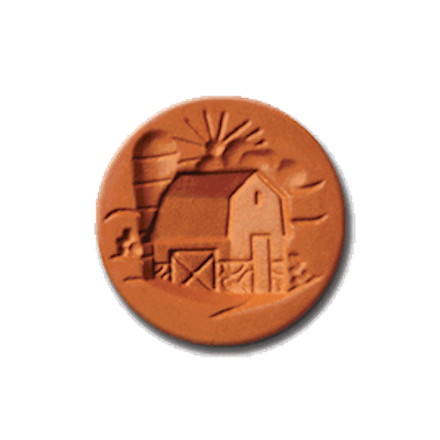 1077 Barn Cookie Stamp | CookieStamp.com