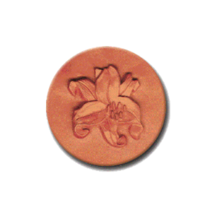 129 Heirloom Rycraft Lily Cookie Stamp | CookieStamp.com