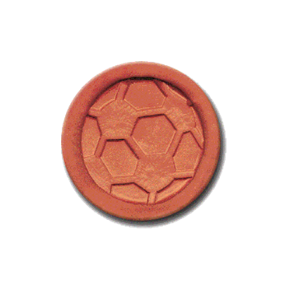 269 Rycraft Soccer Ball Craft Stamp   CookieStamp.com