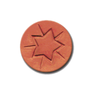 CR 285 Rycraft Star Bright Craft Stamp | CookieStamp.com