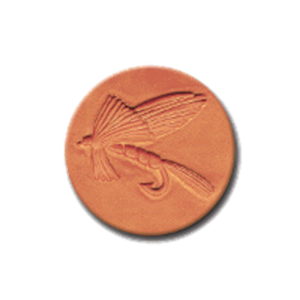 CR 296 Rycraft Fishing Fly Craft Stamp | CookieStamp.com