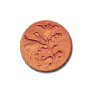 299 Heirloom Rycraft Floral Duo Cookie Stamp | CookieStamp.com
