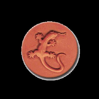 330 Heirloom Rycraft Gecko Lizard Cookie Stamp | CookieStamp.com