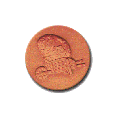 334 Heirloom Rycraft Easter Egg Cookie Stamp | CookieStamp.com