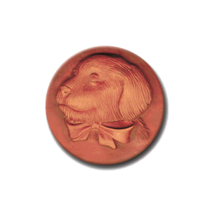 352 Heirloom Rycraft Golden Pup Cookie Stamp | CookieStamp.com