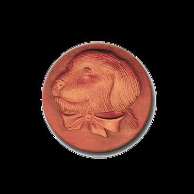 352 Heirloom Rycraft Golden Pup Cookie Stamp | CookieStamp.com