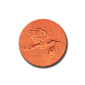 385 Heirloom Rycraft Mr Stork Cookie Stamp | CookieStamp.com