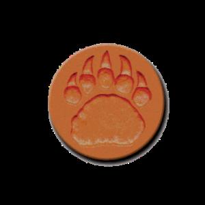 456 Heirloom Rycraft Bear Claw Cookie Stamp | CookieStamp.com