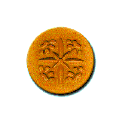 509 Heirloom Rycraft 4 Paw Prints Cookie Stamp | CookieStamp.com