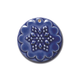 Ornaments | ORN 022 Snowflake Ornament | CookieStamp.com
