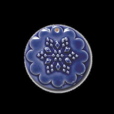 Ornaments | ORN 022 Snowflake Ornament | CookieStamp.com