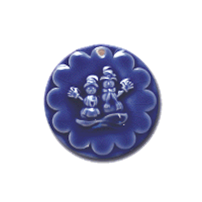 ORN 369 Jack and Jill Frost Ornament | CookieStamp.com